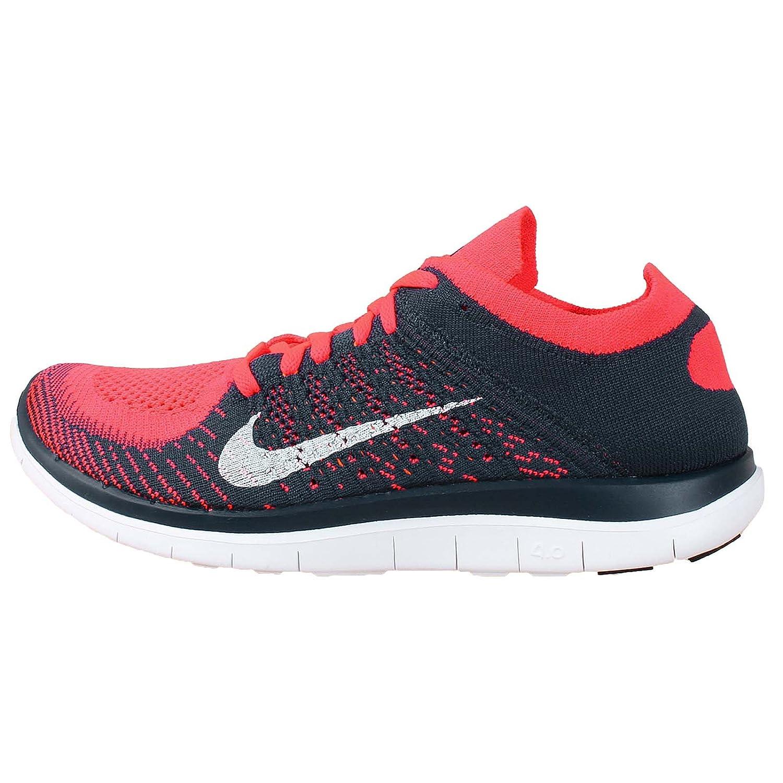 newest edbe8 ddaec Nike Free 4.0 Flyknit - 631053600 - RedBlue (43) Amazon.co.uk Shoes   Bags
