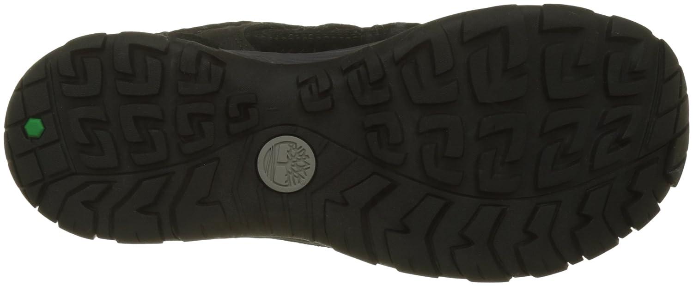 Timberland Saddler Pass Fabric and Leather WP, Zapatos de Cordones Oxford para Hombre, Marrón (Shitake Suede 838), 43 EU