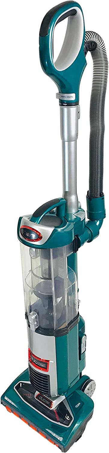 Shark DuoClean Technology Slim Upright Vacuum NV200Q HEPA Filter Powerful Lightweight with Advanced Swivel Steering, Flexi Crevice Tool and Under-Appliance Wand NV200QGN (Green)(Renewed)
