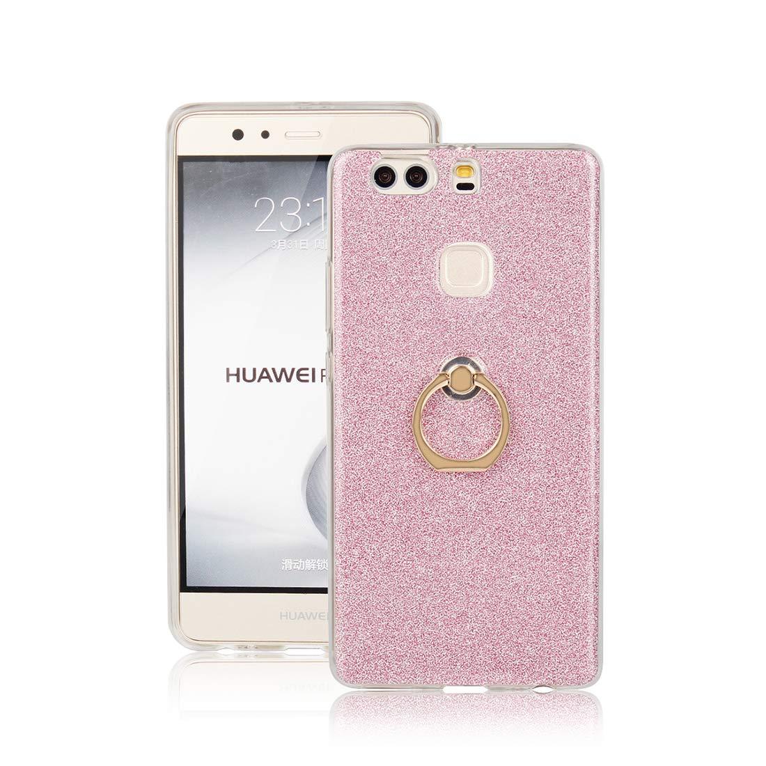 Cover Huawei P9 Plus Lyzwn Case Cover di Alta Qualit/à in Silicone TPU Bumpe Custodia con Glitter Bling Scintillante Brillantini per Donna per Ragazze e Lucida Custodia