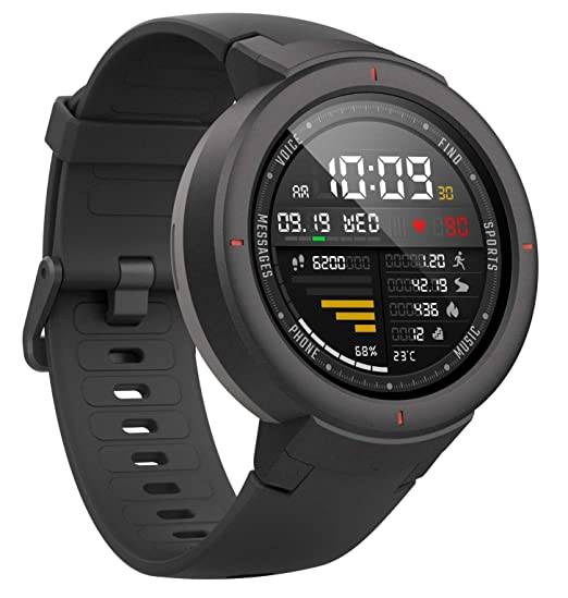 Amazon.com: Amazfit Verge Smartwatch by Huami A1811 IP68 ...