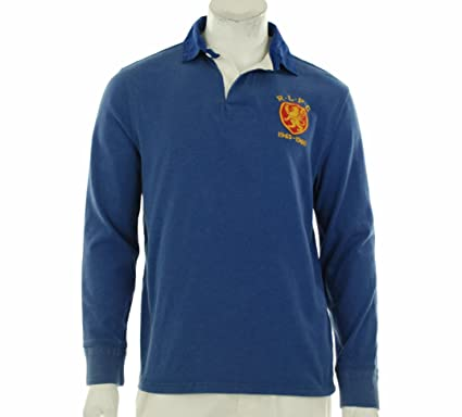 Polo Ralph Lauren hombres Custom-Fit cresta de Rugby X-Large ...