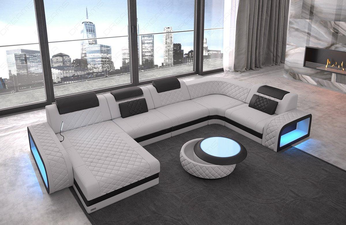 Sofa Dreams Moderne Stoff Wohnlandschaft Berlin U Form Mit