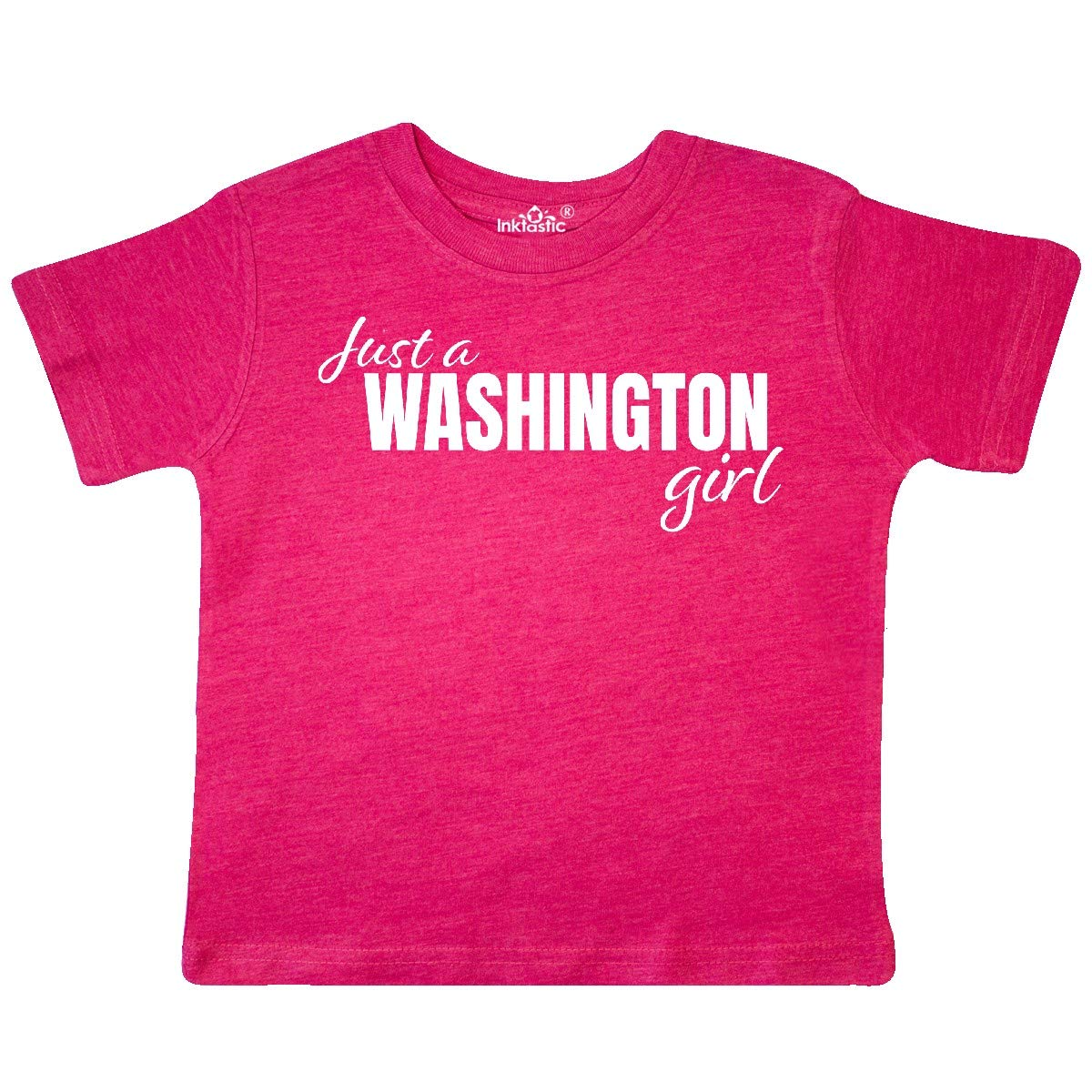 inktastic Just a Washington Girl Born and Raised Toddler T-Shirt
