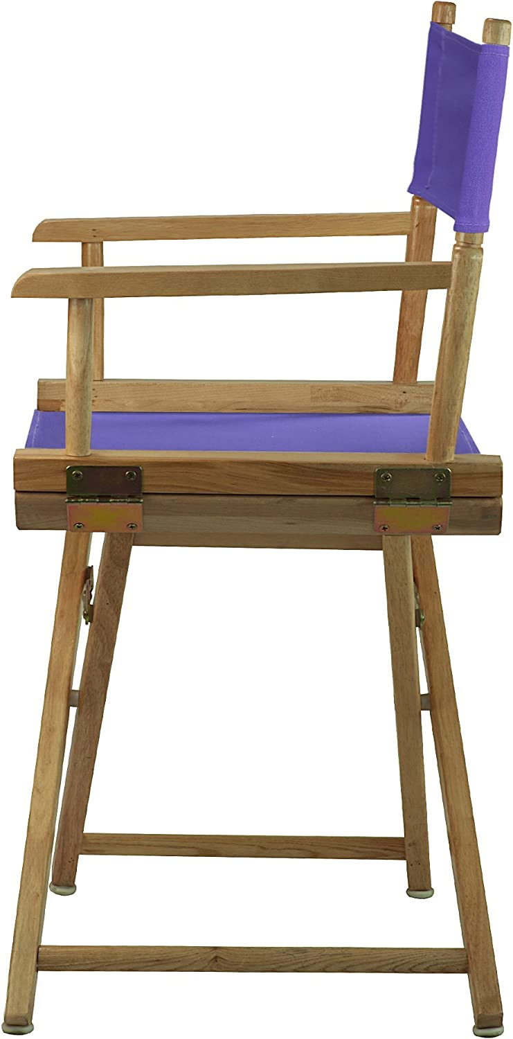 Purple Casual Home 200-00//021-41 Director Chair 18-Classic Height
