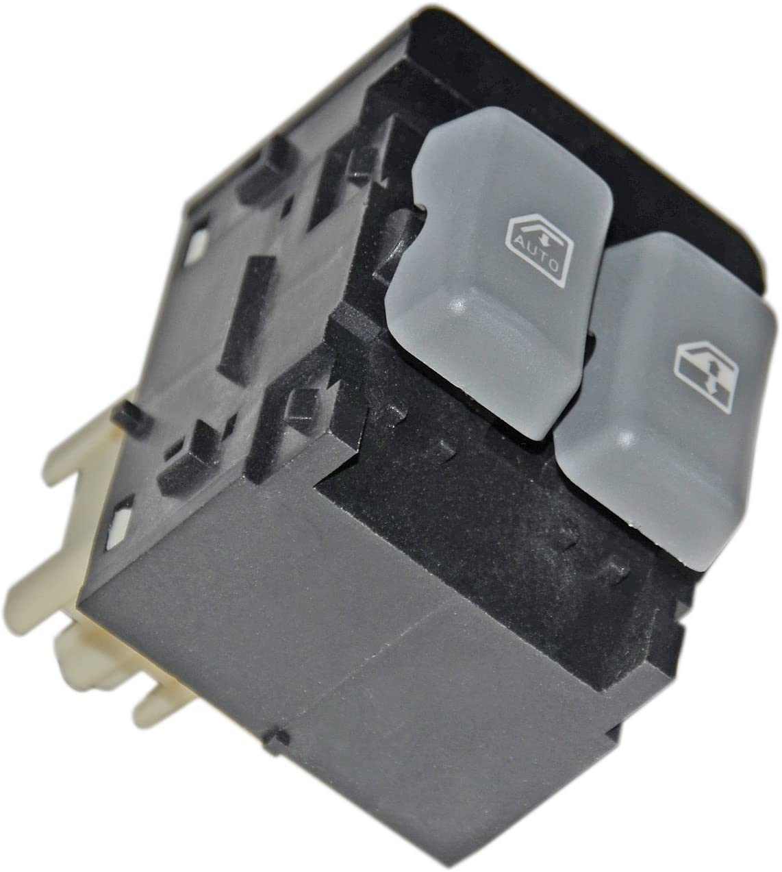 APDTY 012199 Power Window Switch Fits Front Left Driver-Side 2001-2002 Chevrolet Express or Savana 1500 2500 3500 Van Replaces 19244662, 15047832