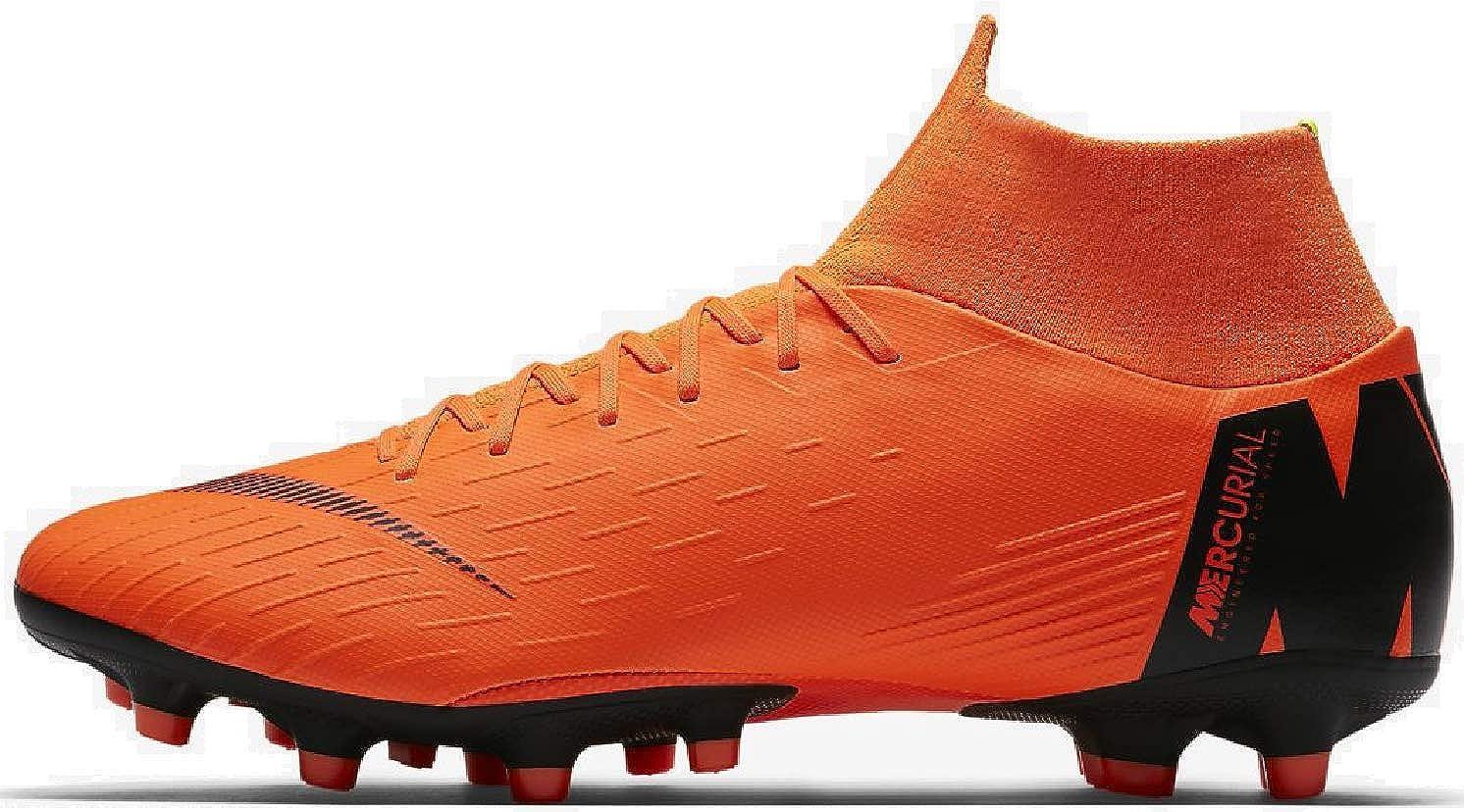 MultiCouleure (Total Orange   noir T 810) 42.5 EU Nike Superfly 6 AG-Pro, Chaussures de Fitness Mixte Adulte