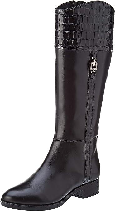 filete Empírico diente  Geox D Felicity H, Botas Altas Mujer: Amazon.es: Zapatos y complementos