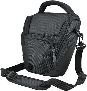 Bw & h - Funda para cámaras réflex digitales Nikon D3000, D3100, D3200, D7000, D5200, D5100 y D5000, color negro: Amazon.es: Electrónica