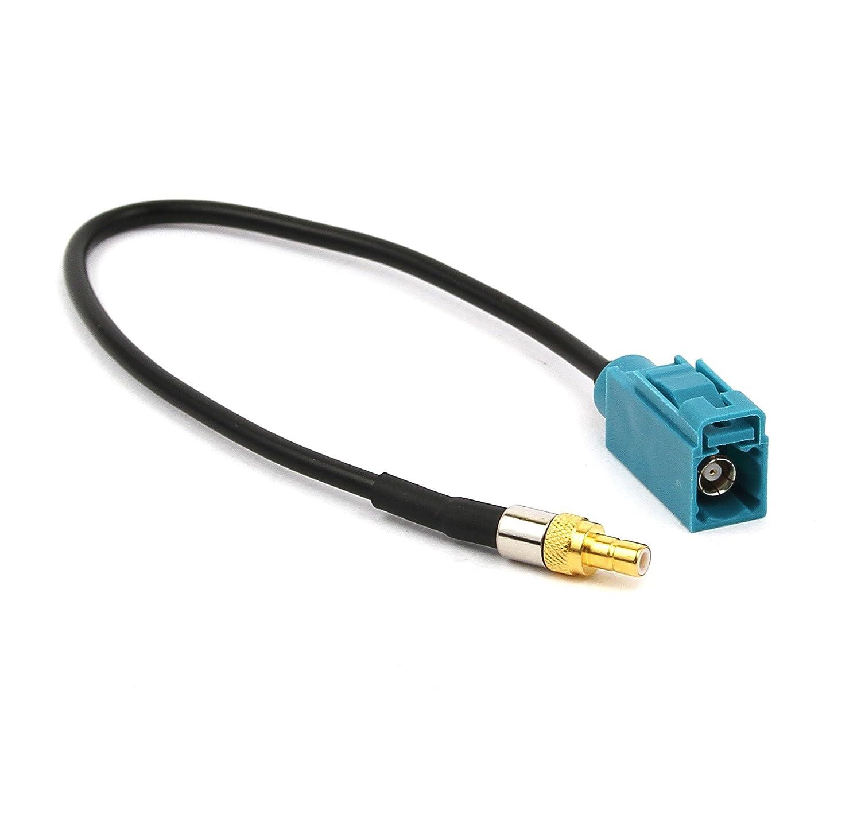 Antena de radio adaptador SMB - Fakra hembra Antena Adaptador Coche GPS Navi: Amazon.es: Electrónica