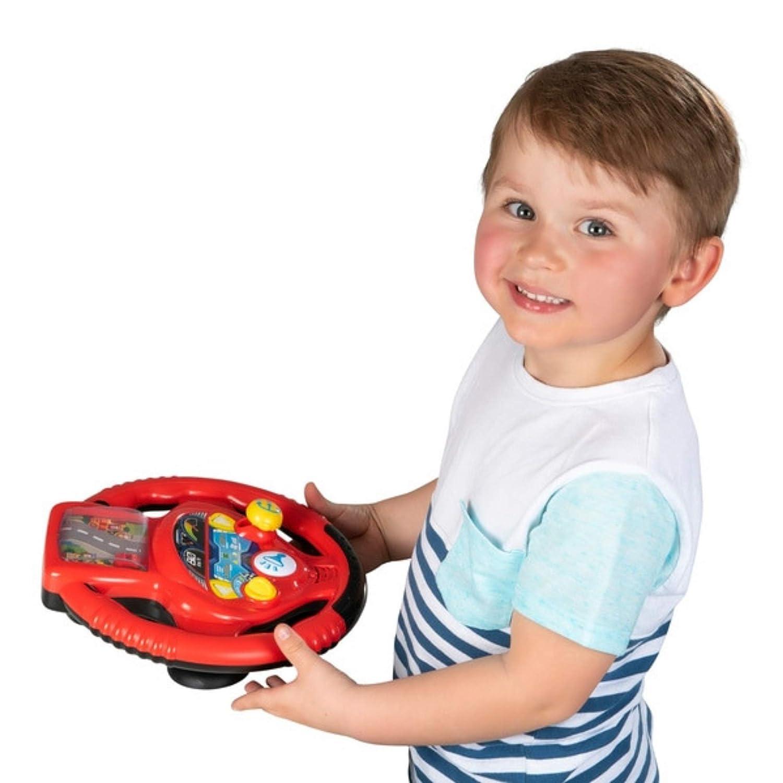 Smyths Big Steps Vroom Junior Racing Steering Wheel