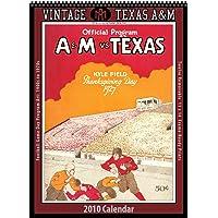Image for Vintage Texas A&M Aggies 2010 Football Program Calendar