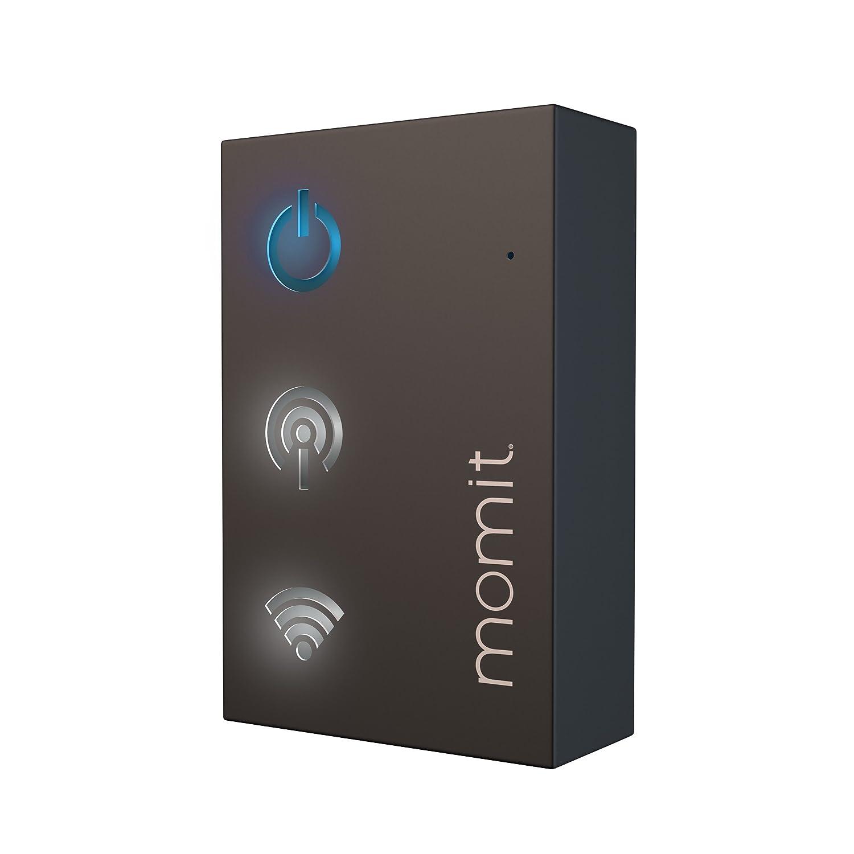 Momit BMHTSV1EU Termostato Inteligente, Plateado: Amazon.es: Bricolaje y herramientas