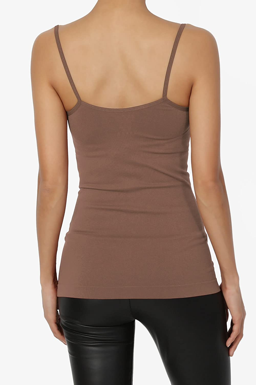 7674de2ddc5 TheMogan Women's Crisscross Strappy Tank Top Stretch Sexy Layering Camisole  Cami