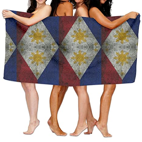 Vintage bandera Filipinas playa toallas Playa Manta Toalla de piscina viaje toalla de baño