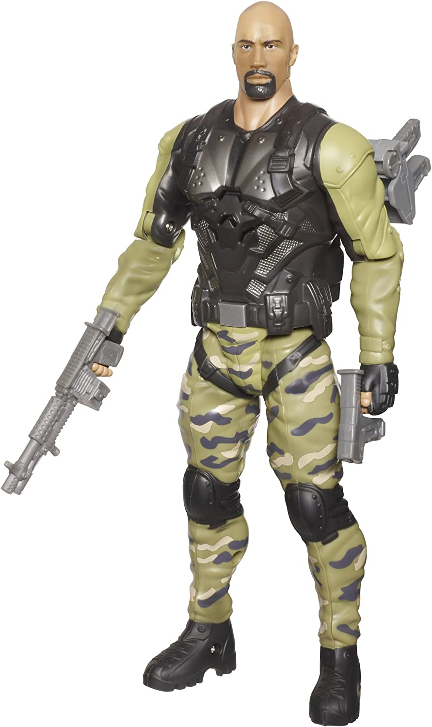 GI Joe Retaliation Ninja Commando Roadblock Figure
