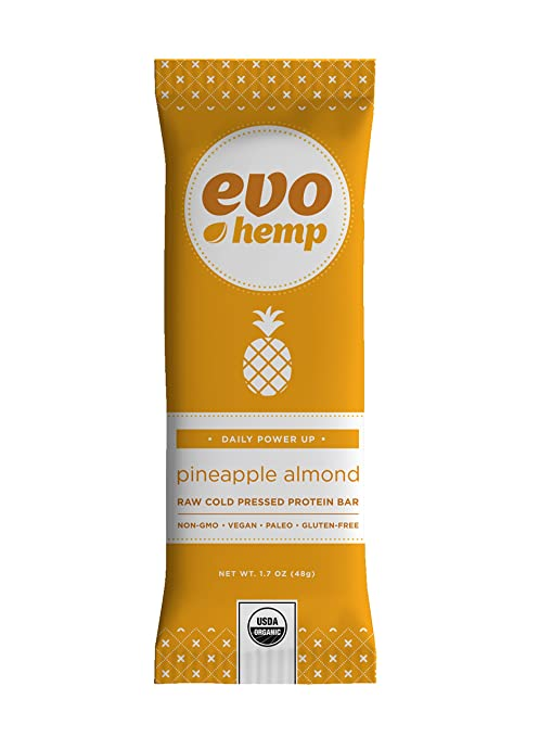 The Evo Hemp Bars travel product recommended by Caleb Backe on Pretty Progressive.