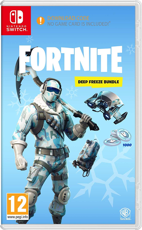 Amazon Com Fortnite Deep Freeze Bundle Nintendo Switch Uk Import Version Video Games