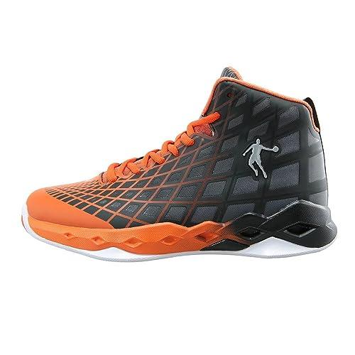 01965c072523 Qiaodan Performance Men s Basketball Shoe Black Orange XM3550101 ...