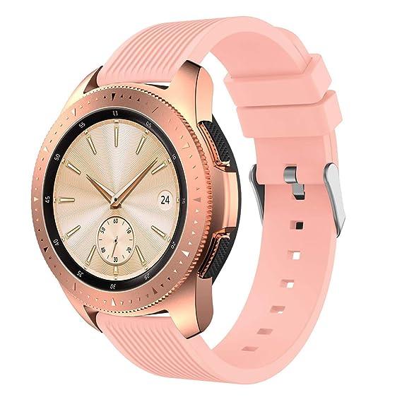 Hombre Mujer Reloj Correa De Banda De Repuesto De Silicona Suave para Samsung Galaxy Watch 42Mm