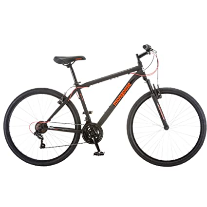 3ade8c751e4 Amazon.com : Mongoose 21 Speed Steel Frame Front Suspension Mountain Bike  for Men, 27.5 Inch : Sports & Outdoors