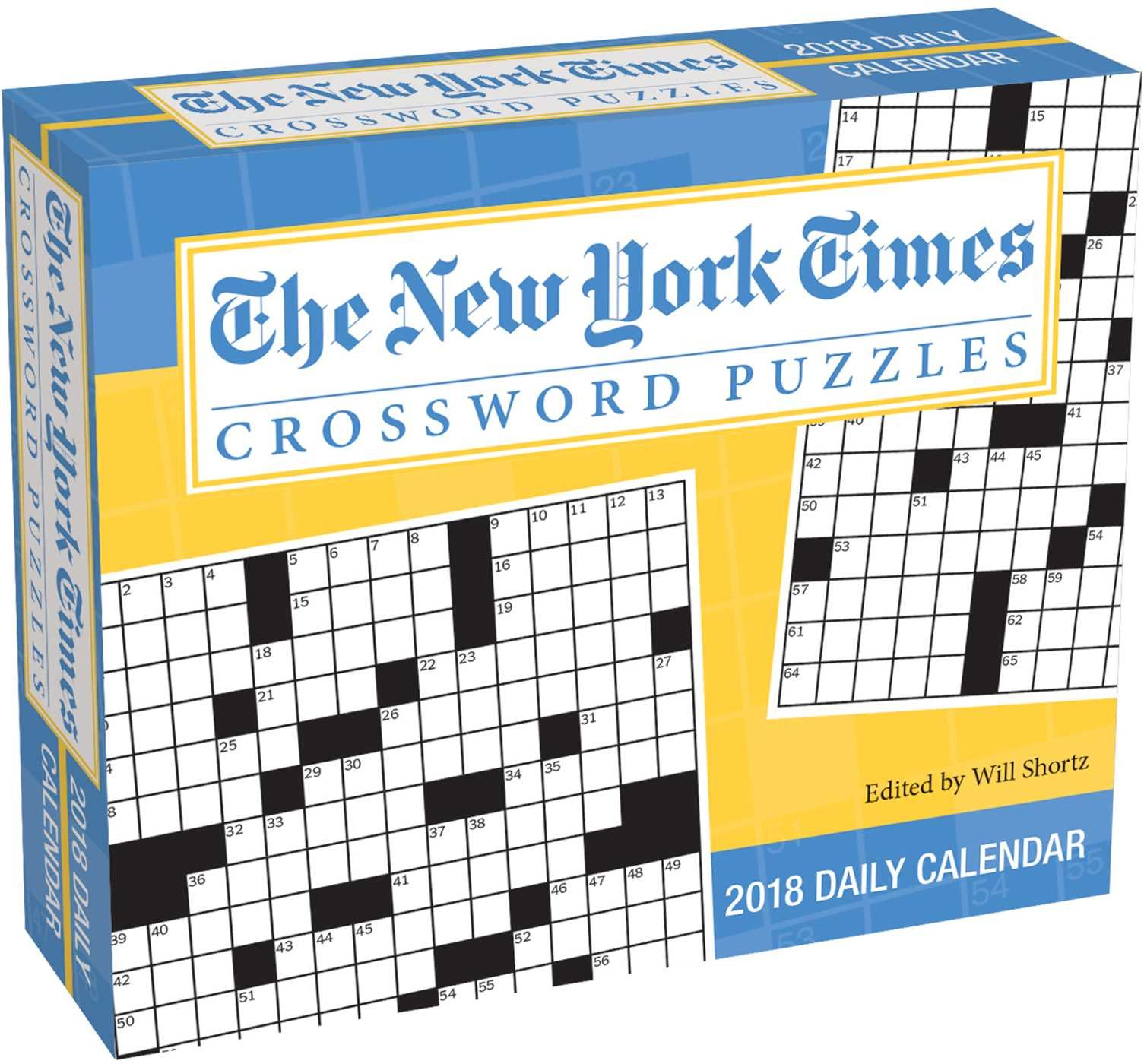 The New York Times Crosswords 2018 Day-to-Day Calendar: The New York Times:  0050837359475: Amazon.com: Books