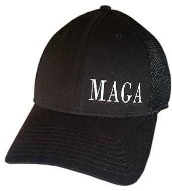 MAGA ~ NEW ERA STRUCTURED MESH BACK ~ SNAPBACK Cap ~ Trump Hat (Black  STRUCTURED 7483ddd93c3