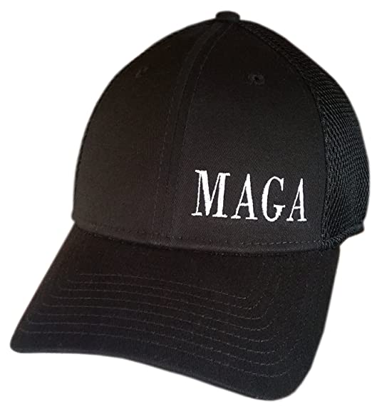 6ca03fc2ee1 MAGA ~ NEW ERA STRUCTURED MESH BACK ~ SNAPBACK Cap ~ Trump Hat (Black  STRUCTURED
