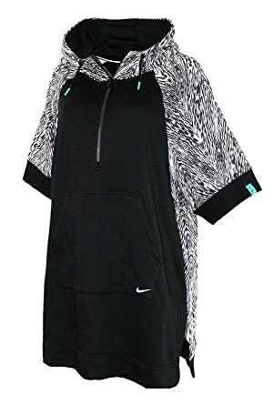 3a58c6ced NIKE N7 PONCHO WOMEN'S Athletic 1/4 zip Hoodie Loose Fit Jacket (XS ...