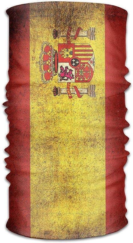 KL Decor Unisex Bandera de España Casco Retro Pañuelo Forro Forro de Cabeza Bufanda Talla única Grandes Regalos para Hombres Mujeres: Amazon.es: Deportes y aire libre