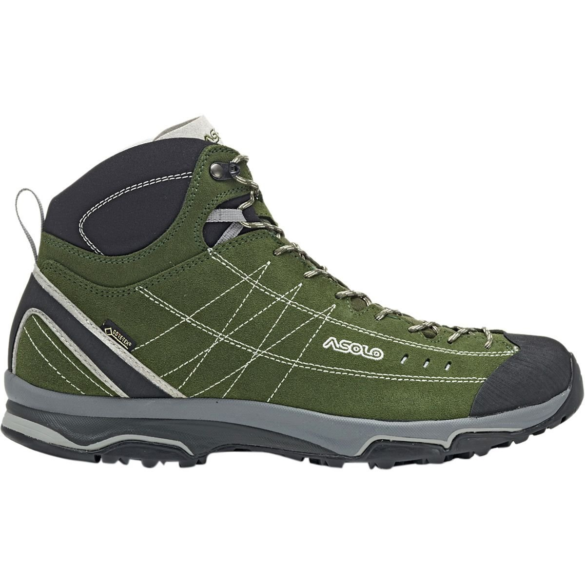 Asolo A40028 Men/'s Nucleon Mid GV Rifle//Green Silver Hiking Walking Shoes Boots