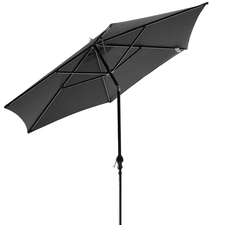 ZEARO Parasol Deporte inclinable 360° Rotatif en Aluminium Canopy abri Soleil UNTI-UV