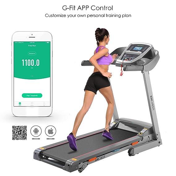 Plegable Cinta de Correr w4098 (App Control.): Amazon.es: Deportes ...