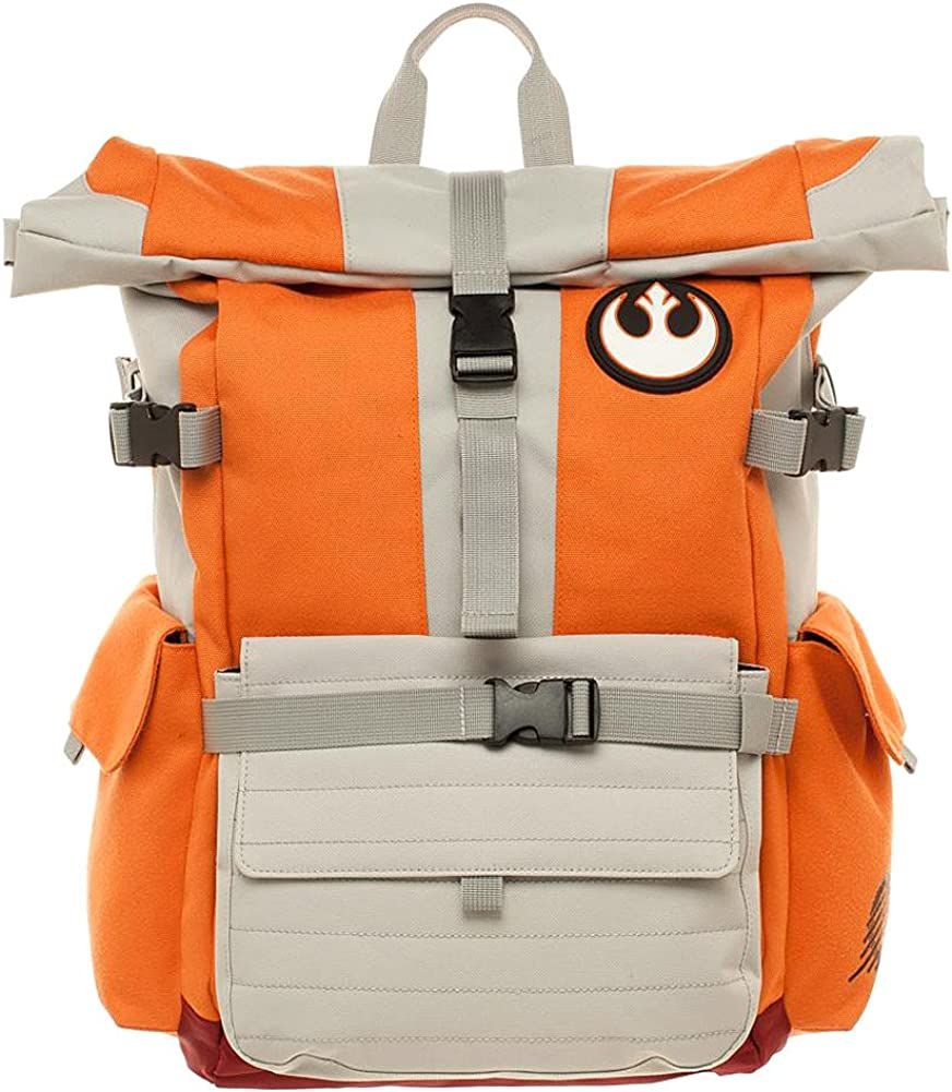 Official Star Wars Resistance Pilot Convertible Messenger Bag Backpack