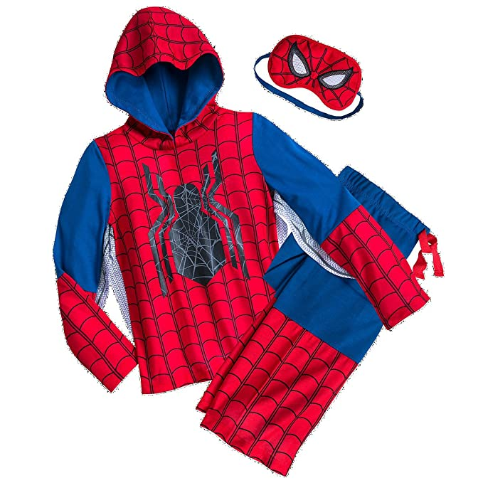 Ultimate Spider-Man Boys Thermal Underwear Marvel Comics Brand New Size 8 WHITE