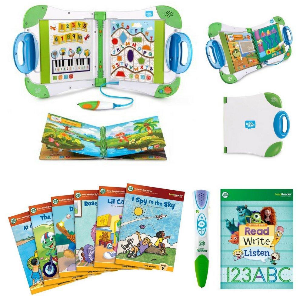 LeapFrog LeapStart, Leapfrog LeapReader Reading and Writing System, Leapfrog LeapReader Learn to Read Volume 2, Leapfrog LeapReader Books, Leapfrog Pen, Reading Kit, Learning Kit by LeapFrog LeapStart (Image #1)
