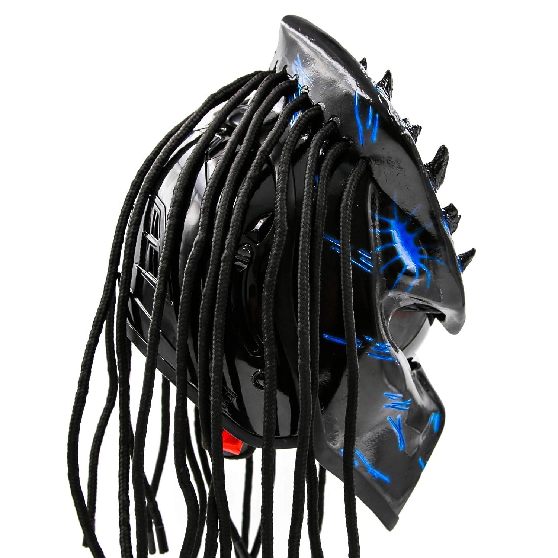 Amazon.com: Predator - Casco de moto homologado por DOT ...