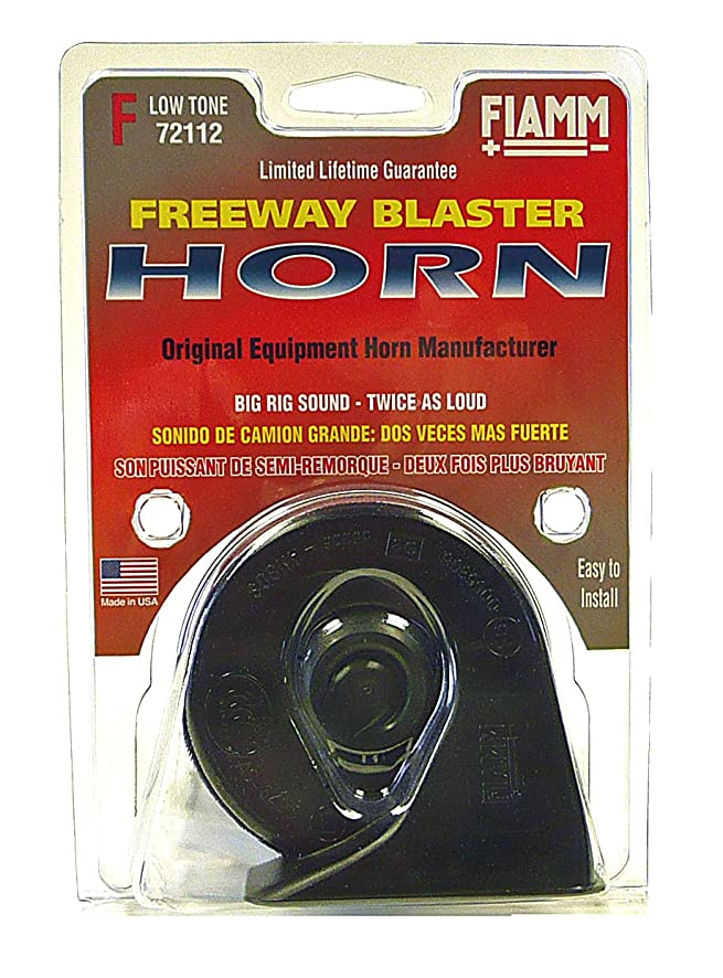 71dQ75WwAPL._SY886_ amazon com fiamm 72112 freeway blaster low note horn automotive fleet farm trailer wiring harness at alyssarenee.co