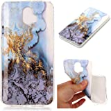 XYX ZTE Blade V8 Pro Case,ZTE Z978 Marble Case,[Marble Pattern] Slim Shockproof Flexible TPU Soft Rubber Silicone Skin…