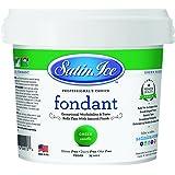 Satin Ice Vanilla Fondant Green 5 lb