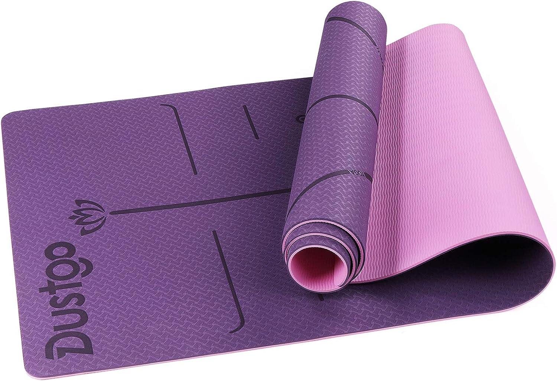 Dustgo Esterilla Yoga Antideslizante
