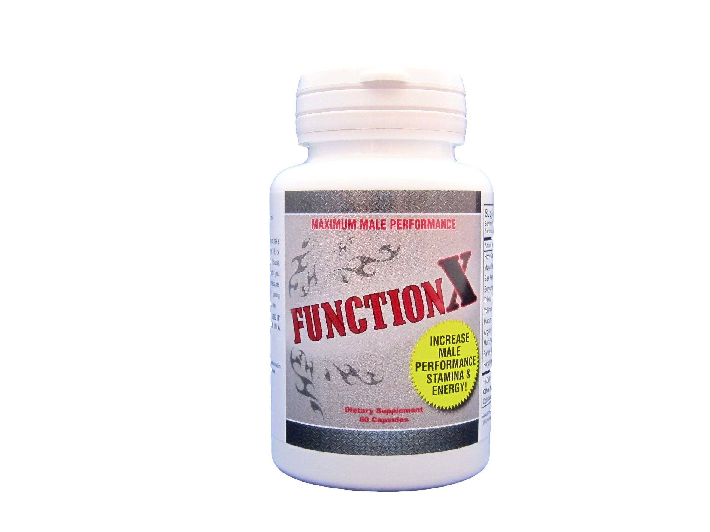 Function X - Maximum Male Performance (180)