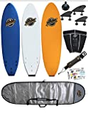 7' Soft-Top Surfboard Package- The Ruccus