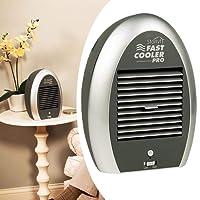 Mini Ar Ventilador Climatizador Portatil Agua Cooler Gelado Climatiza Bateria Fonte