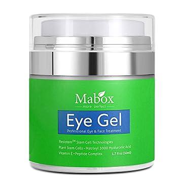 Mabox Ceramide Eye Gel para Hinchazón, ojeras, arrugas y ...
