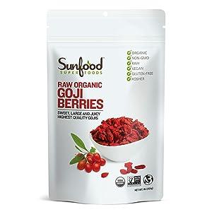 Sunfood Goji Berries (1 Pound)