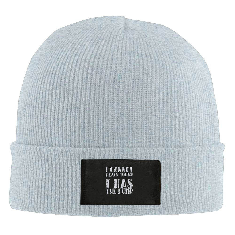Amazon.com  I Cannot Brain Today I Has The Dumb New Winter Hats Knitted  Twist Cap Thick Beanie Hat Ash  Clothing cde1a5871a6b