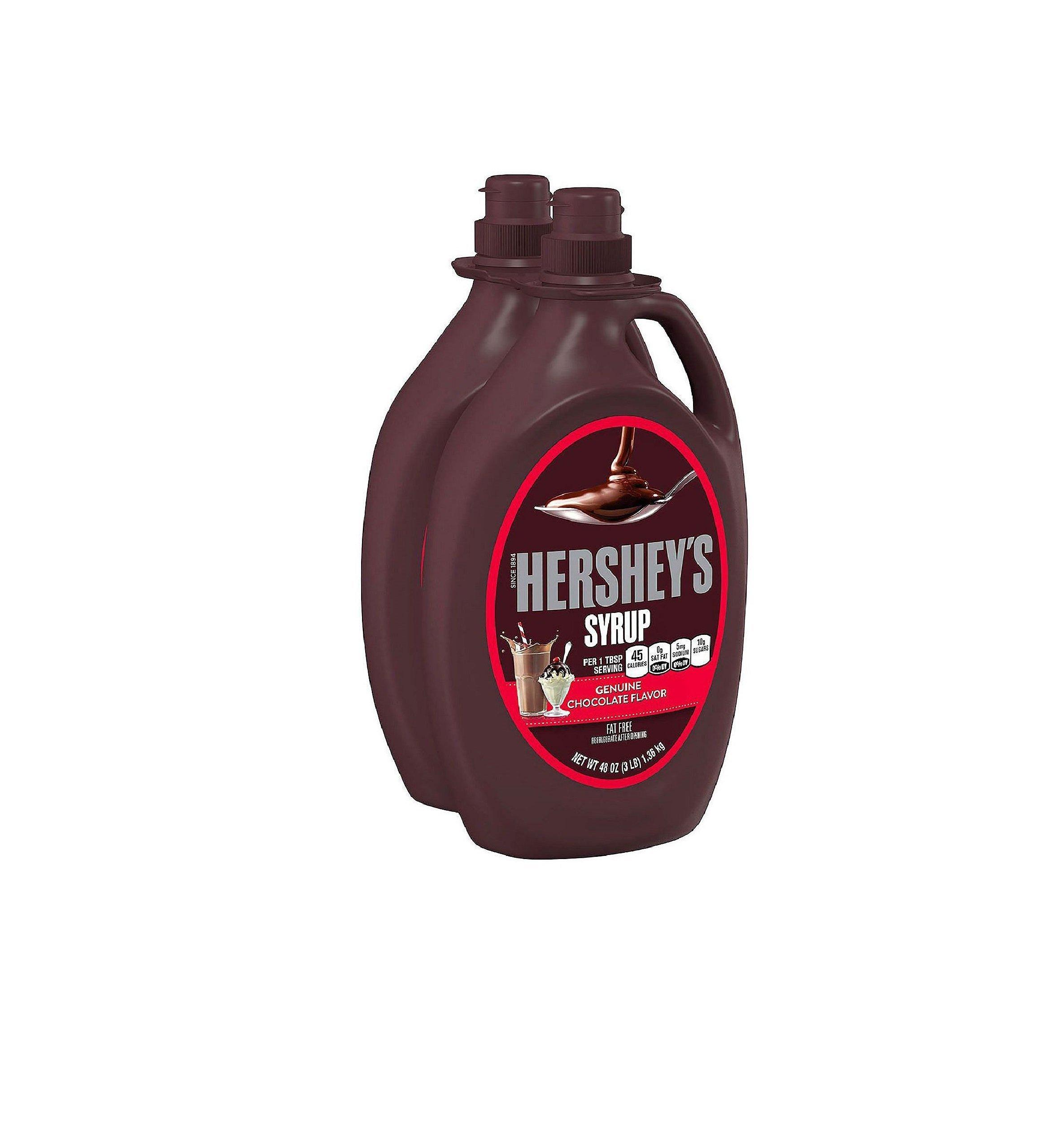 Hershey's Syrup, Chocolate (48 oz. bottle, 2 ct.)