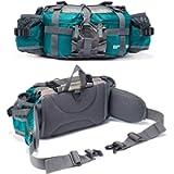 Bp Vision Outdoor Fanny Pack Hiking Camping Fishing Waist Bag 2 Water Bottle Holder Lumbar Pack…