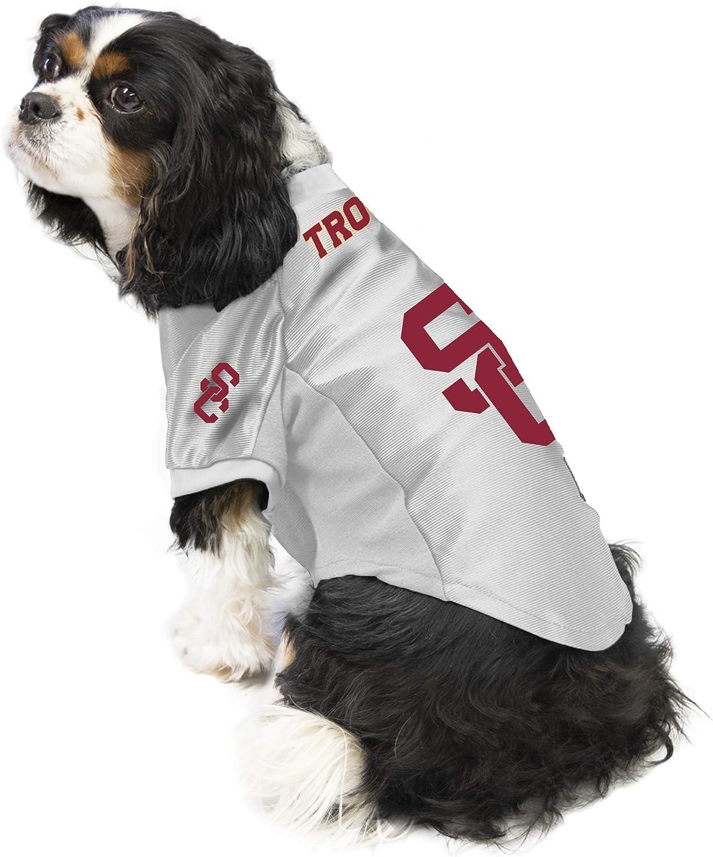 XL Littlearth NCAA USC Trojans Pet Jersey
